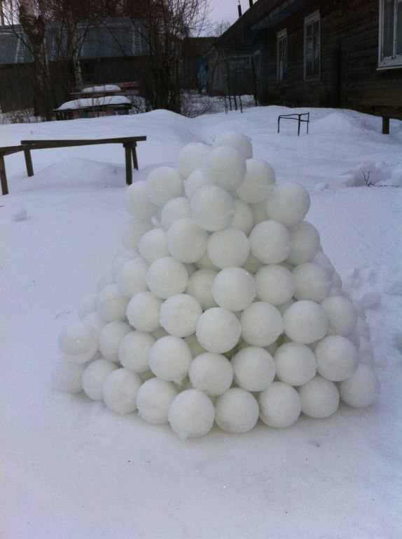 Как сделать снежколеп своими руками